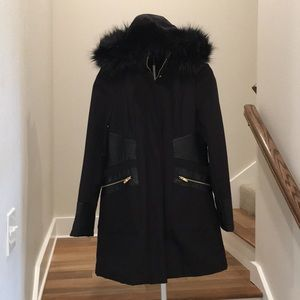 Via Spiga Winter Coat with detachable hood
